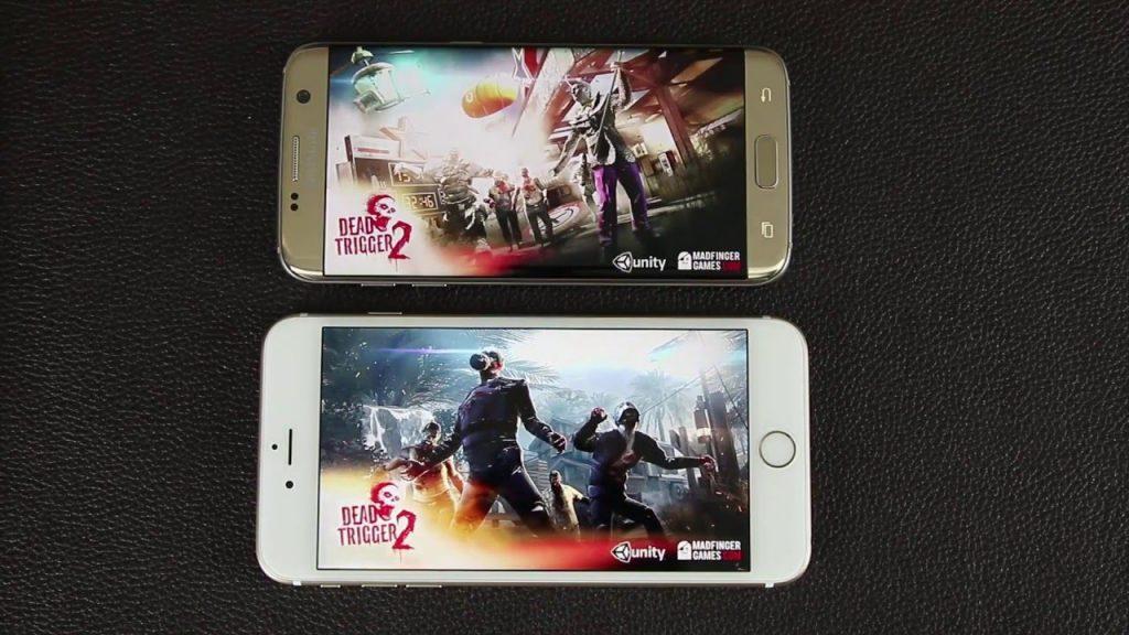 iPhone 6S Plus vs Samsung Galaxy S7 Edge Gaming Performance Comparison