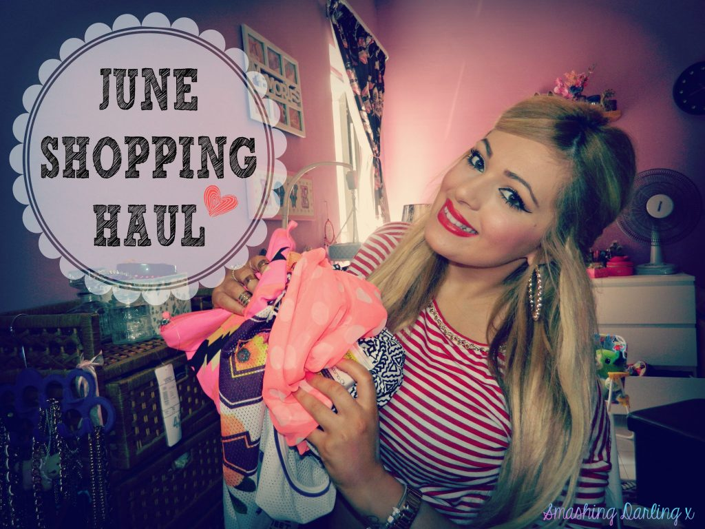 June Shopping Haul! Clothes/Shoes/Makeup/Accessories/Baby Stuff & Home Decor – Smashing Darling x