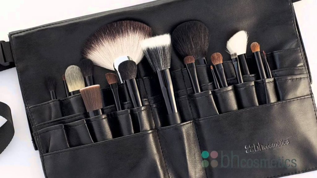 BH Cosmetics Makeup Brushes and Brush Belts Review