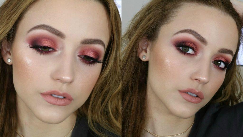 Pink/Berry Smokey Eye | Makeup Tutorial