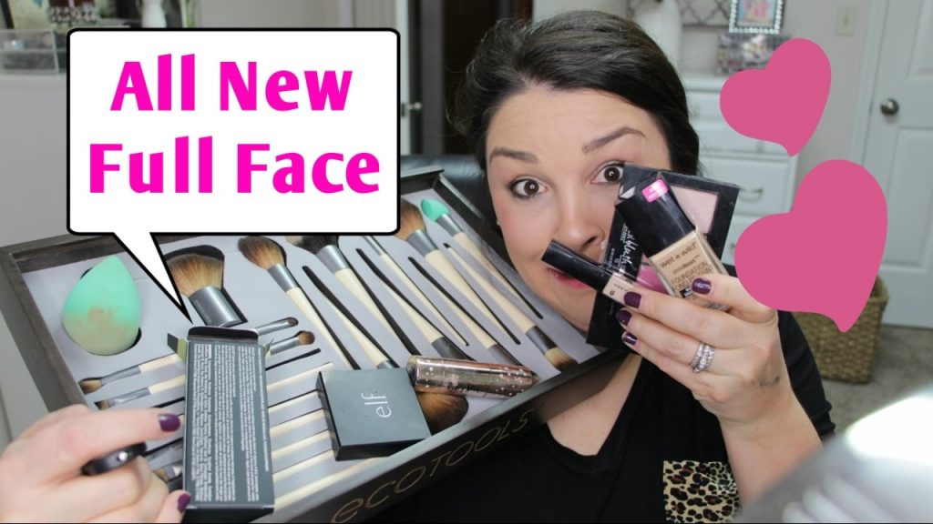 TRY ON! New Products From The Drugstore & Sephora! Full face makeup tutorial