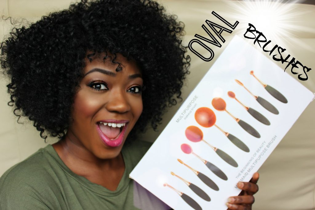 ARTIS OVAL MAKEUP BRUSHES DUPE! REVIEW/DEMO. AFFORDABLE AMAZON OVAL BRUSH SET. FULL FACE.