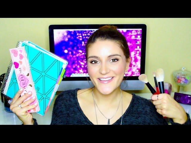 JANUARY FAVORITES | Plum Paper Planner, Makeup, & Accessories | Daniela June