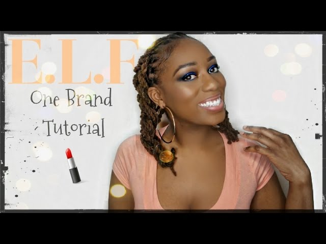 One Brand: E.L.F cosmetics Full Face Makeup Tutorial!