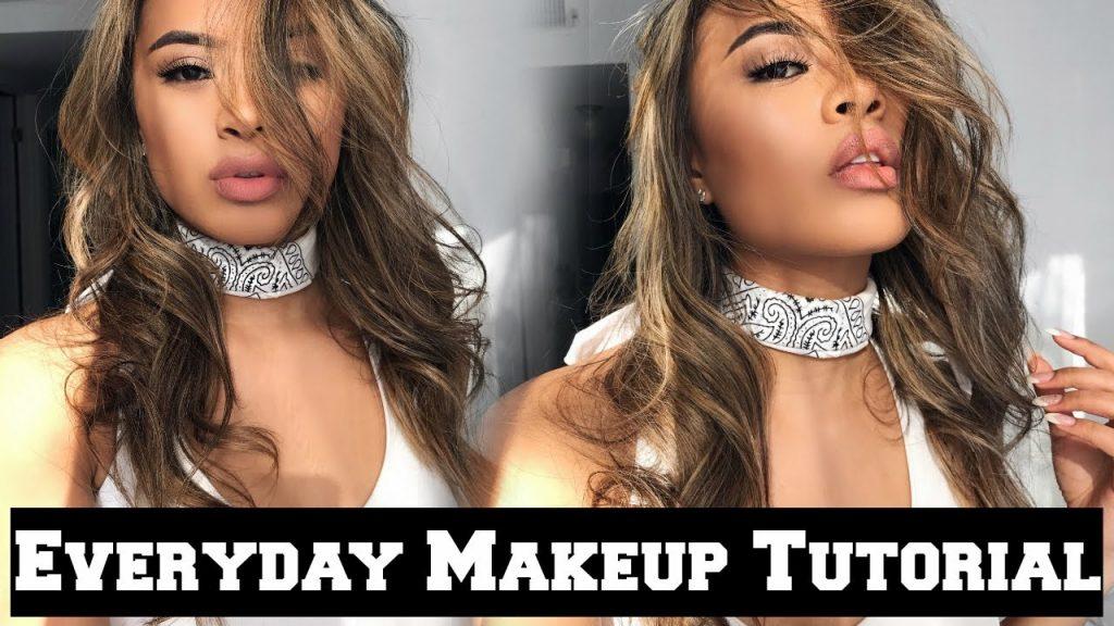 Everyday Full Face Makeup Tutorial ♛ Mia Randria