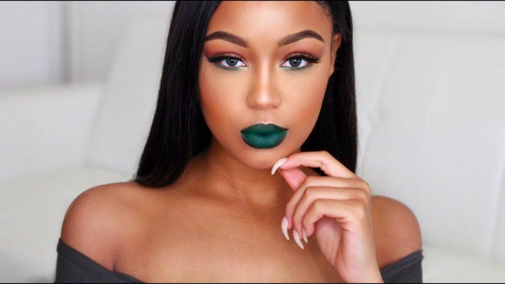 Bold Green Makeup Tutorial | Teaira Walker