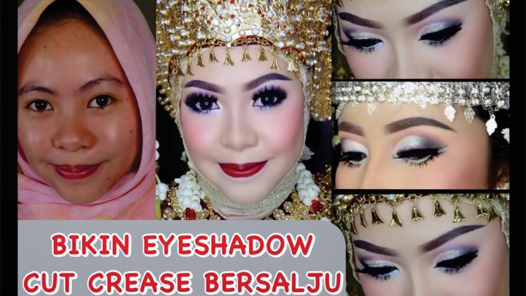 Tutorial Makeup   Eye Shadow Cut Crease Bersalju Manjah by ARI IZAM