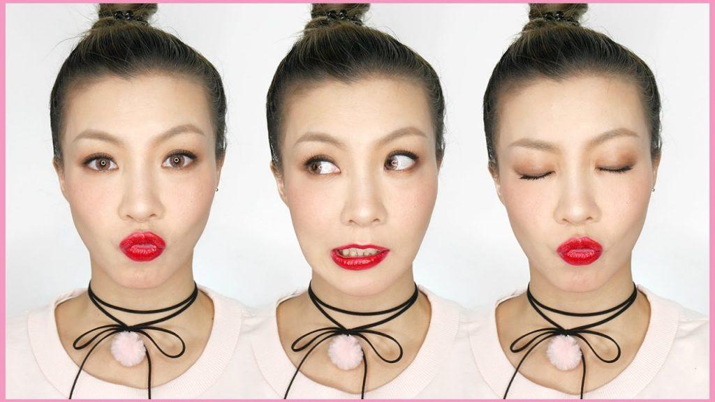 甜美紅唇妝 Cute Red Lip Makeup | HIDDIE T