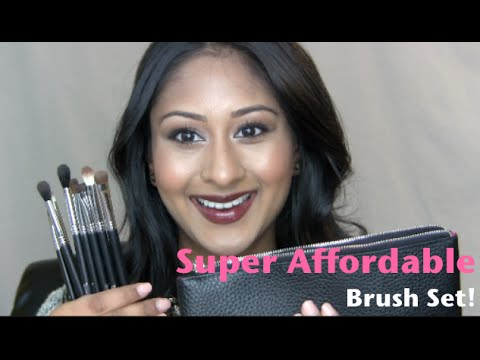Affordable Brushes! Beauty Junkee Eye Makeup Brush Set Review! | Makeup By Megha