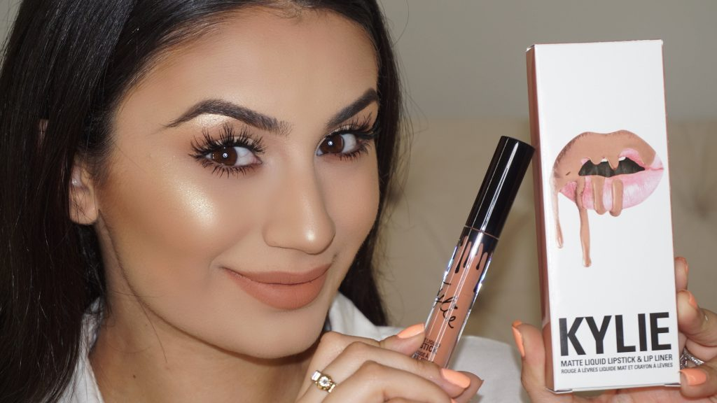 """Nude Makeup Tutorial Talk Through   Kylie Lip Kit """"Exposed"""" First Impression   Glamour By Suzy"""