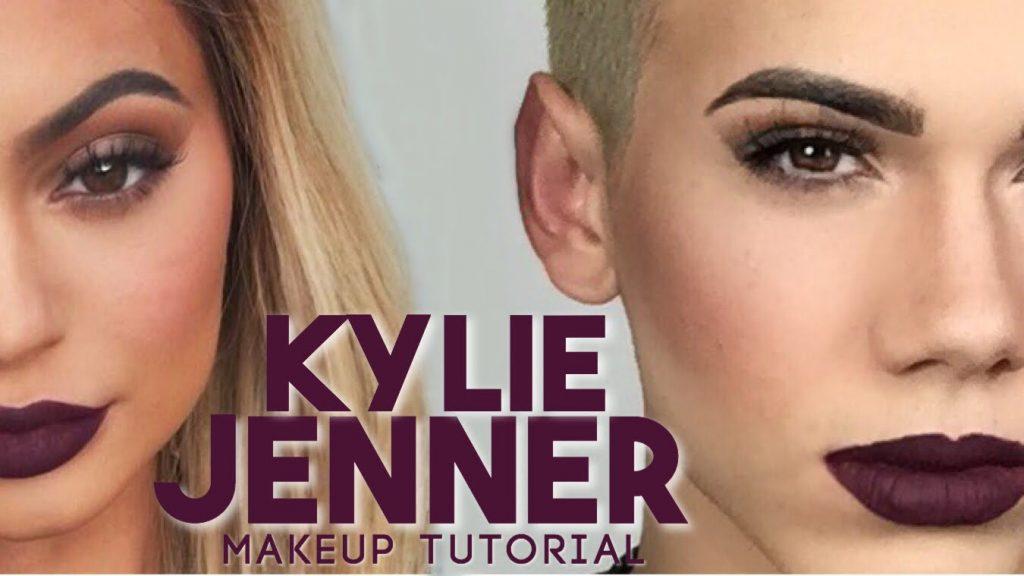 KYLIE JENNER Makeup Tutorial + Kylie Lip Kit in Kourt K!