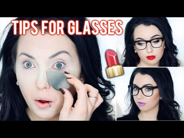 Full Face In-Depth Makeup Tips & Tutorial for Glasses | Crease Lines, Undereye Shadows, etc.