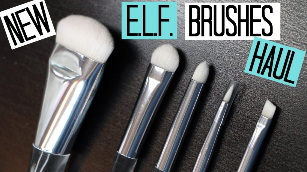 NEW e.l.f. Makeup Brushes HAUL! Contouring, Brow, Liner