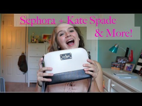 Accessories and Makeup Haul: Sephora, Kate Spade + More