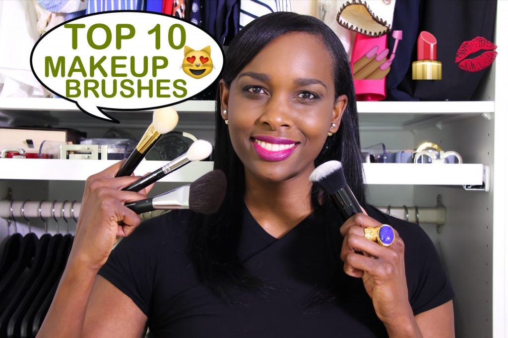 My Top 10 High End Makeup Brushes   Chanel   Zoeva   Tom Ford & Marc Jacobs
