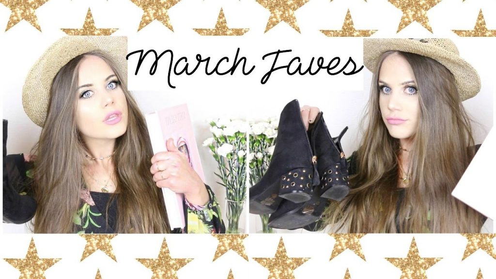 March Faves!  ✩  Makeup, Clothing, Accessories & More!