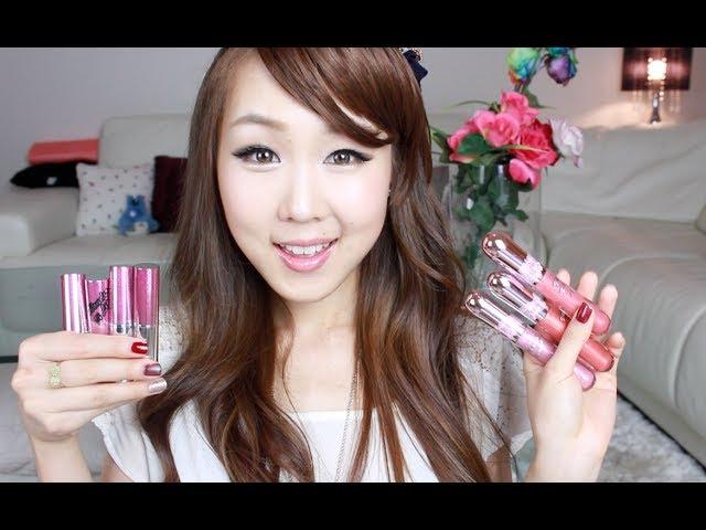 KOREAN MAKEUP❤ Peripera Wonder Lipstick & Glosses Swatches & Review