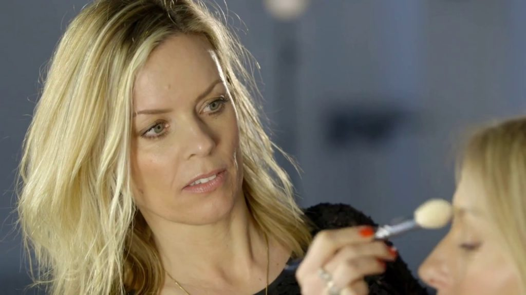 Face Lift makeup for The Beauty Know it all, Nadine Baggott.
