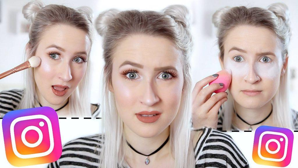 Testing INSTAGRAM Makeup (Baking, Cut Crease, Glow Kit, Lip Kit etc…) | Sophie Louise