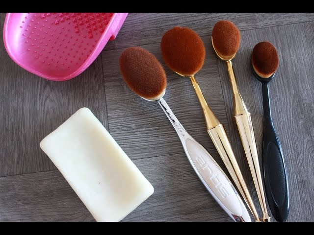 HOW I WASH & DRY OVAL MAKEUP BRUSHES