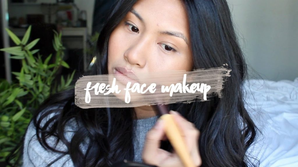 MY GO-TO FRESH FACE MAKEUP | ft. JANE IREDALE
