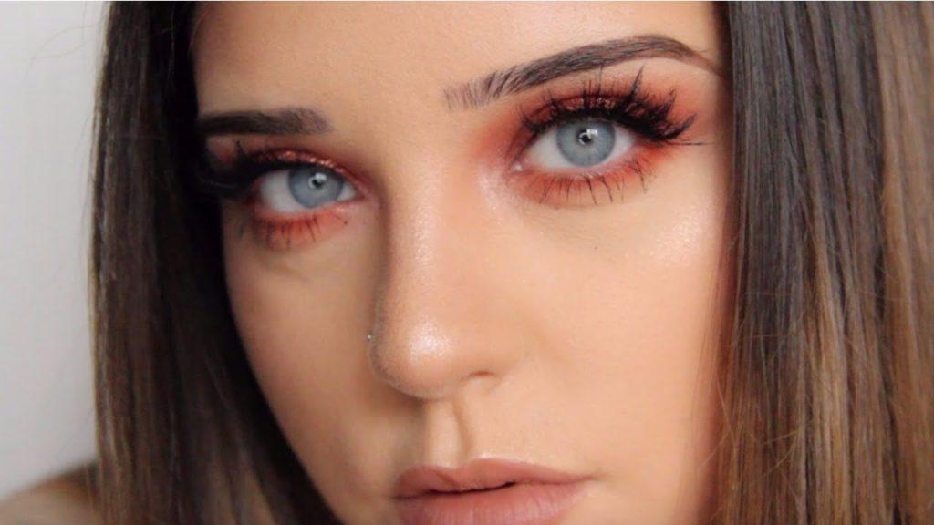 Easy copper smokey eye makeup tutorial – ELLEAH