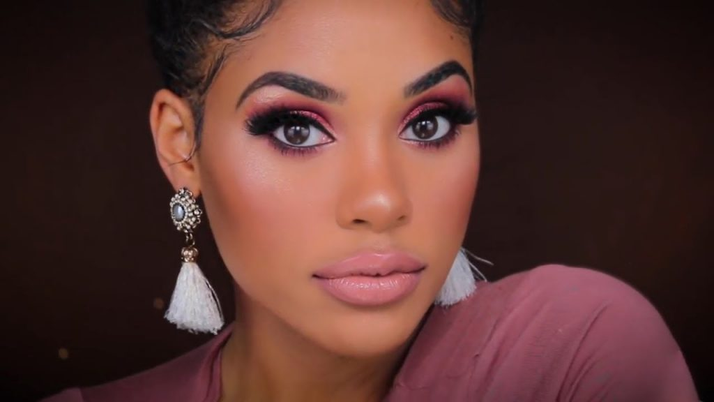 MY GO TO GLAM NIGHT OUT MAKEUP | 2 LIP CHOICES