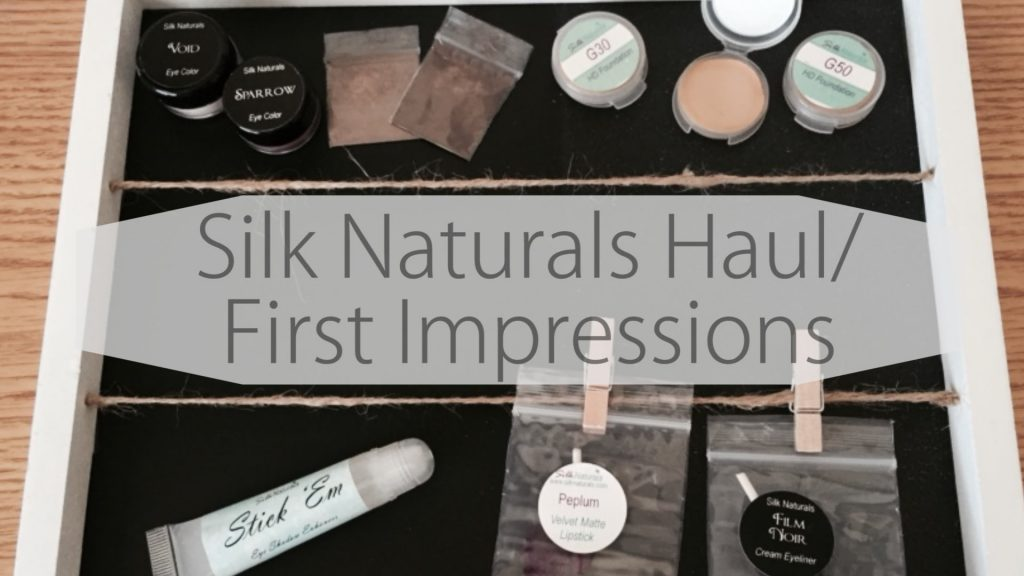 Silk Naturals Haul / First Impressions (Natural, Cruelty-Free Makeup)