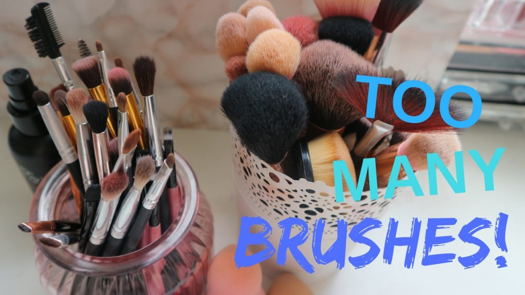 Makeup Brush Collection + Declutter! | February 2017