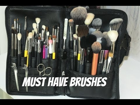 Makeup Artist Series | Must Have Makeup Brushes | Mandy Davis MUA