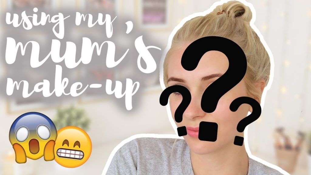 FULL FACE USING ONLY MY MUM'S MAKE-UP!