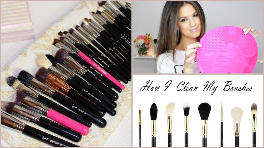 How I Clean My Makeup Brushes (UPDATED) – Sigma Spa Mat