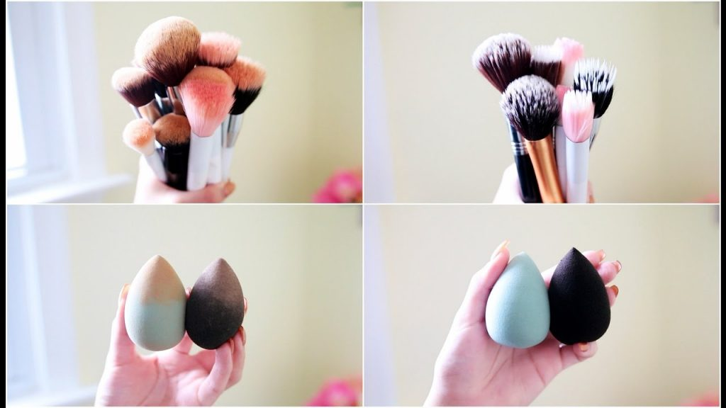 How To Clean Makeup Brushes + Beauty Blenders For $1