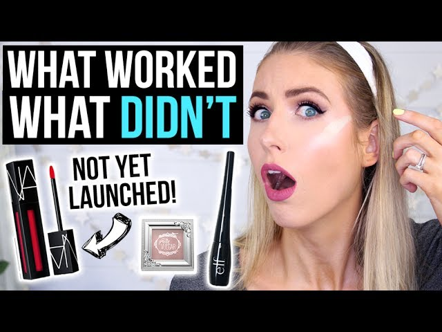 Full Face FIRST IMPRESSIONS Testing HOT NEW MAKEUP! || NO SWATCH CHALLENGE!