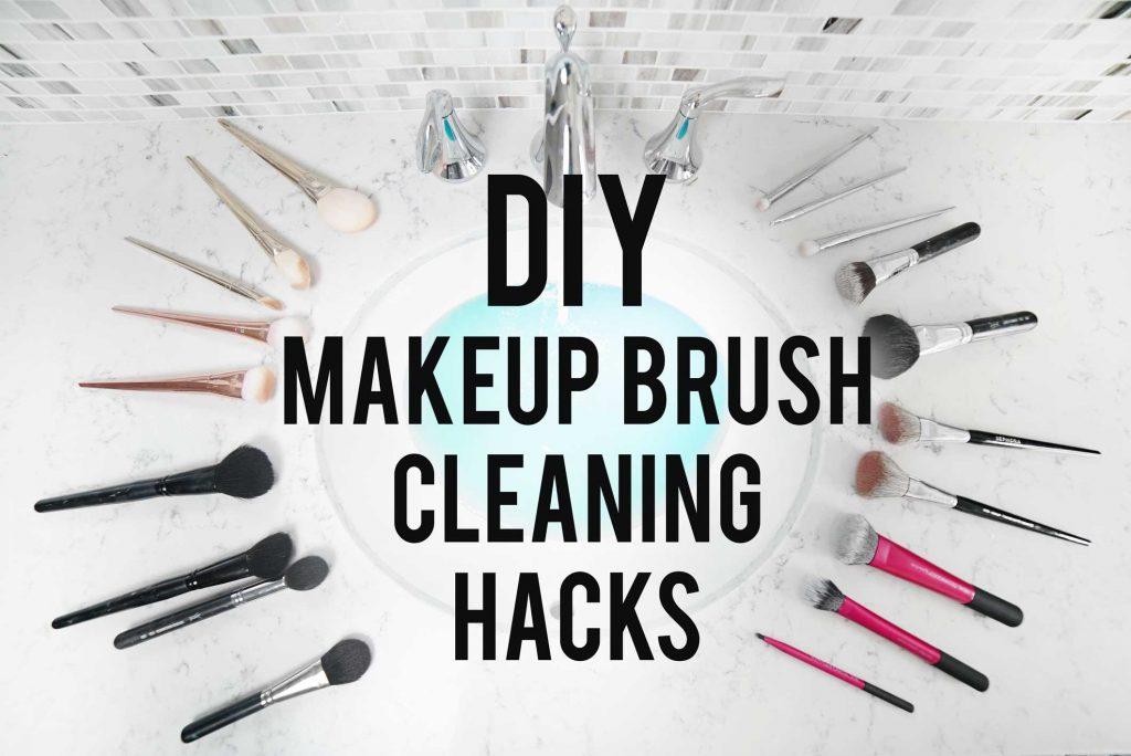 DIY Makeup Brush Cleaning Hacks   ANN LE