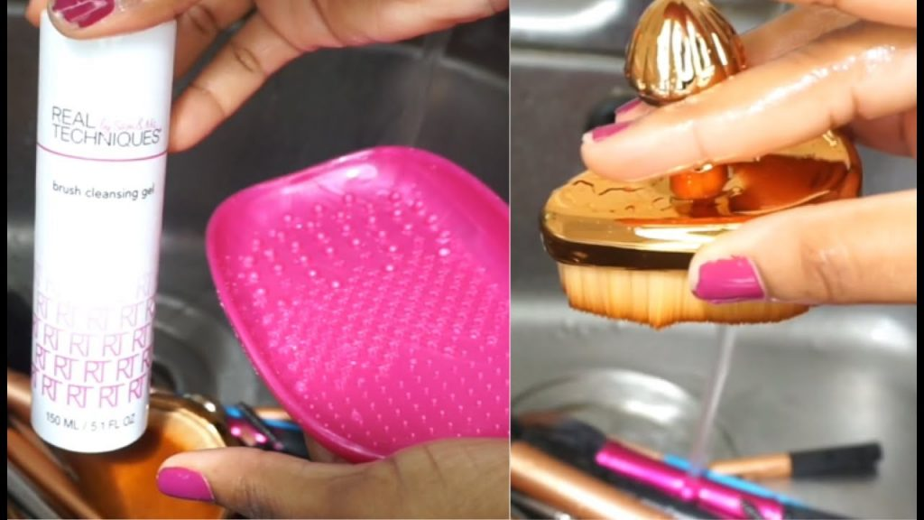 How To: Clean Makeup Brushes & Beauty Blender