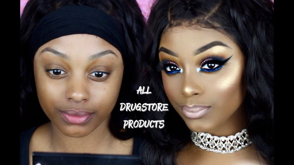 ALL DRUGSTORE MAKEUP TUTORIAL | AFFORDABLE MAKEUP & BRUSHES