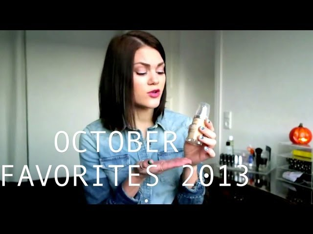 October Favorites 2013 (Makeup, Skin care, Hair care, Accessories etc.)