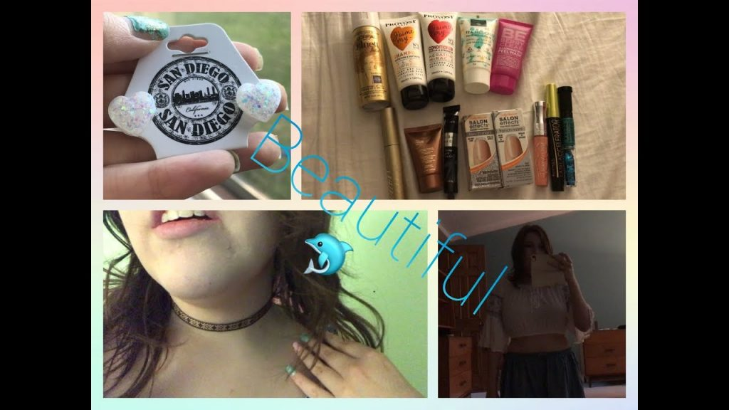 California Fashion Haul | Clothes, Makeup, Jewerly, and Accessories
