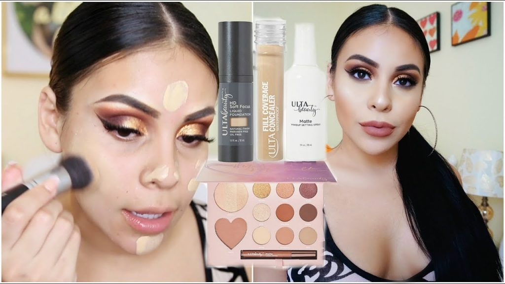 FULL FACE USING ONLY ULTA BEAUTY MAKEUP 2017