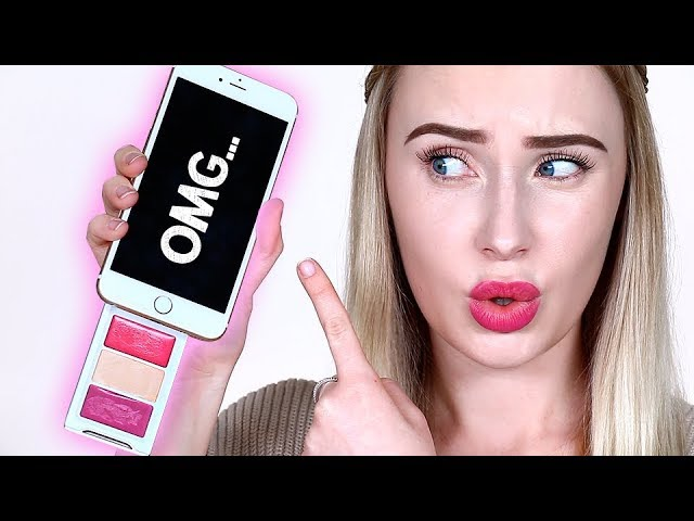 THE WORLD'S FIRST BEAUTY PHONE CASE?!? Tested! | Lauren Curtis