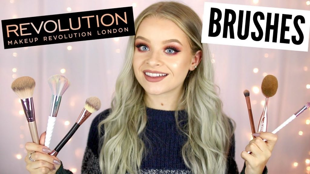 FAVOURITE MAKEUP REVOLUTION MAKEUP BRUSHES
