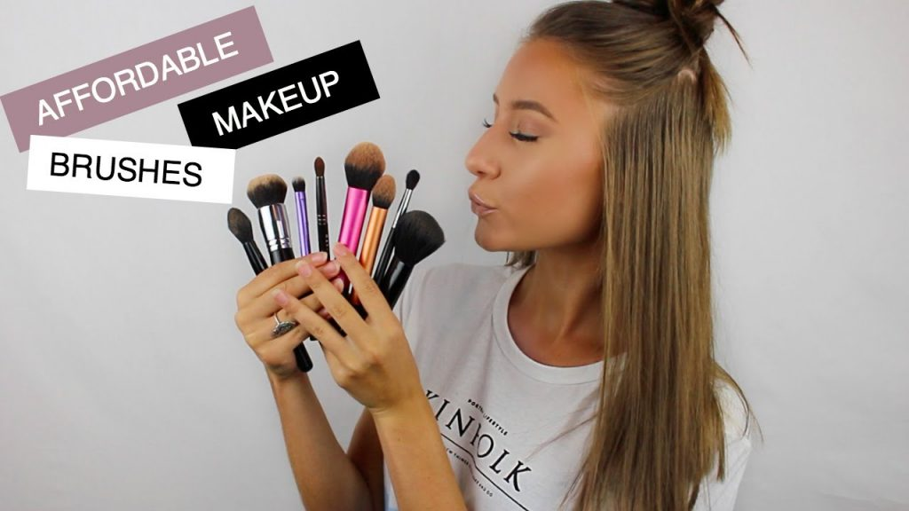 BEST AFFORDABLE MAKEUP BRUSHES AND BRANDS