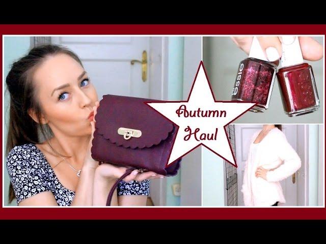 Autumn Haul! | Makeup, Accessories & Fashion