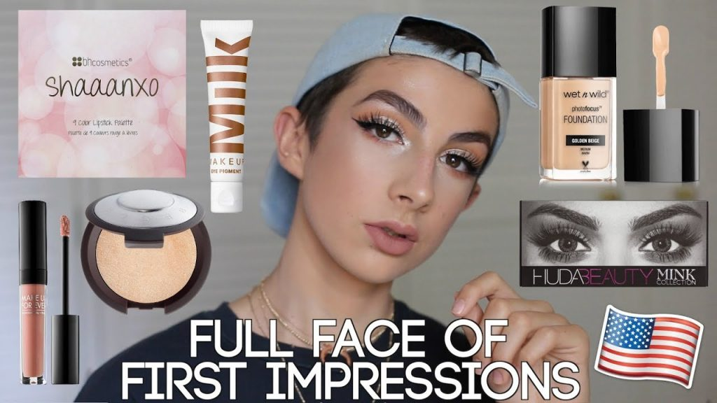 Testing American Makeup – Full Face of First Impressions! (Drugstore & Highend)