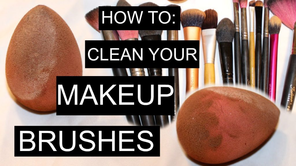 HOW TO CLEAN YOUR MAKEUP BRUSHES | BEAUTY BLENDERS