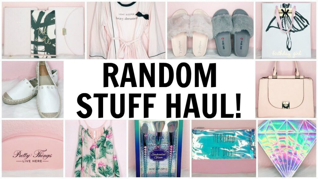 RANDOM STUFF HAUL! ♡ Stationery, Clothing, Accessories, Shoes & Makeup