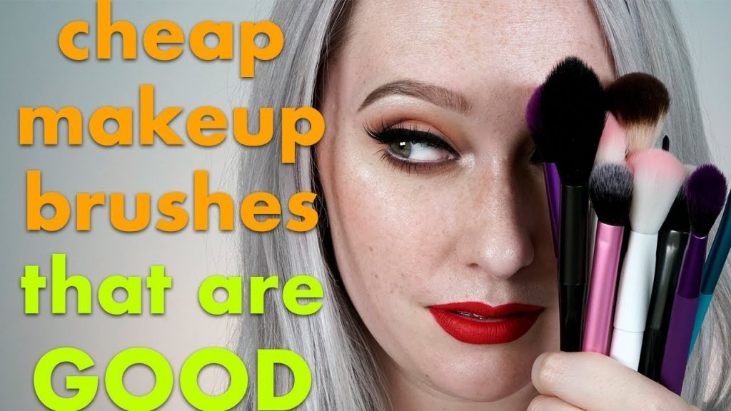 MY ALL TIME Favorite INEXPENSIVE & DRUGSTORE Makeup Brushes | JkissaMakeup