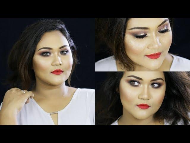 Easy Gold Halo Smokey Eye Makeup Tutorial | EID ul Azha makeup look 2017 (In Bangla)