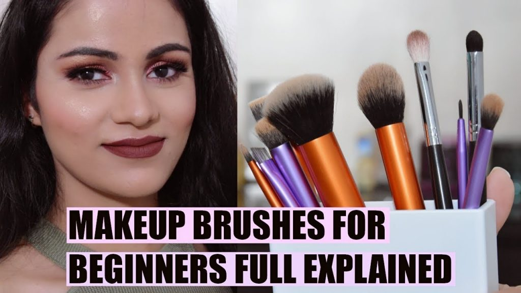 Makeup Brushes For BEGINNERS In HINDI|| How To Use MAKEUP BRUSHES